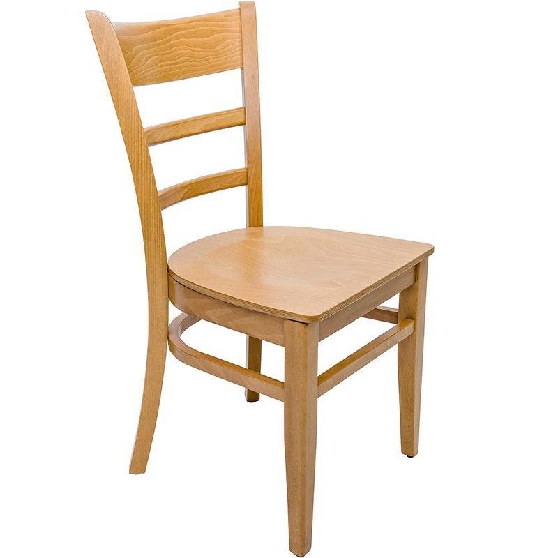 An image of Hudson Oak Veneer Side Chair