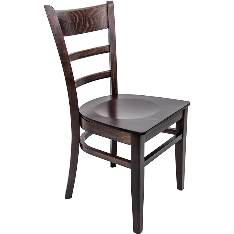 An image of Hudson Walnut Veneer Side Chair