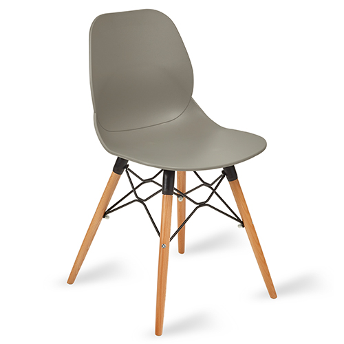 An image of Shoreditch Side Chair - Grey