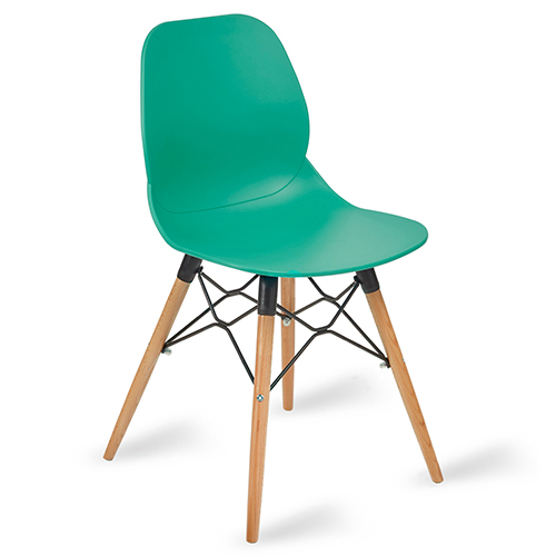 An image of Shoreditch Side Chair - Turquoise