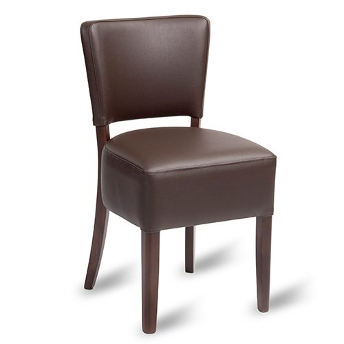 An image of Trent Dining Chair - Brown