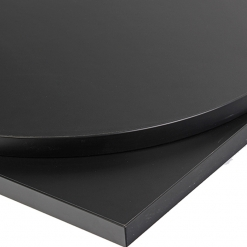 NEXT DAY Black Laminate Table Tops - 25mm
