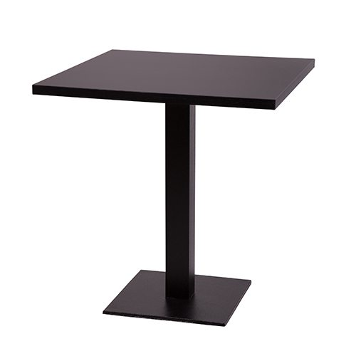 Forza Square Table Base Dining Height Nobis Restaurant