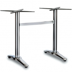 Fresh-4-leg-Polished-Aluminium-Outdoor-Twin-Dining-Table-Base-Nobis-Restaurant-Furniture