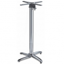 Aluminium4-leg-Poseur-Table-Base-Nobis-Restaurant-Furniture