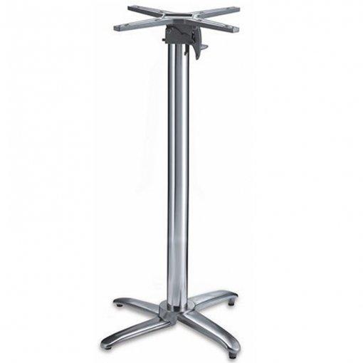 Aluminium4-leg-Poseur-Table-Base-Nobis-Restaurant-Furniture