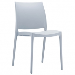 Indoor or Outdoor Polypropylene Stacking Side Chair