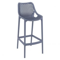 Anthracite Polypropylene Indoor or Outdoor High Chair