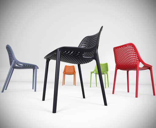 Group Shot Spring Outdoor Side Chair