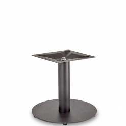 Black-EPC-Mild-Steel-Small-Round-Base-and-Column-Coffee-Height-Table-Base-Nobis-Restaurant-Furniture