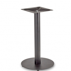 Black-EPC-Mild-Steel-Small-Round-Base-and-Column-Dining-Height-Table-Base-Nobis-Restaurant-Furniture