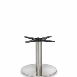 Stainless- Steel-Small-Round-Column-Coffee-Height-Table-Base