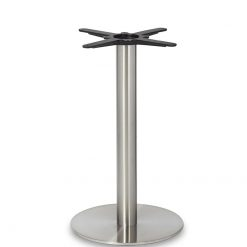 Stainless- Steel-Small-Round-Column-Dining-Height-Table-Base