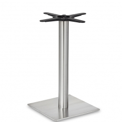 Stainless-Steel-Square-Base-Round-Column-Dining-Height-Table-Base