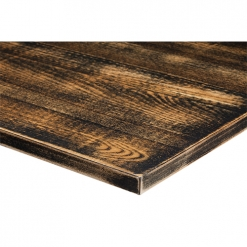 25mm-Solid-Ash-Distressed-Table-Top-Light-Oak-and-Jet-Black-Nobis-Restaurant-Furniture