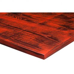 25mm-Solid-Ash-Distressed-Table-Top-Walnut-and-Traffic-Red-Nobis-Restaurant-Furniture