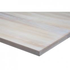25mm Solid Ash Lime Wash Table Top - Light Oak
