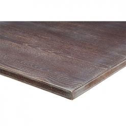25mm Solid Ash Lime Wash Table Top - Walnut