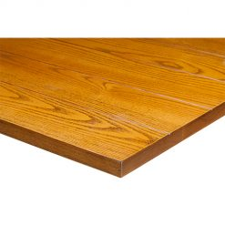 25mm Solid Ash Slat Table Tops oak finish