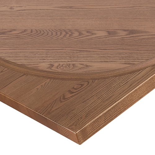 25mm Polished Oak Solid Ash Table Top -