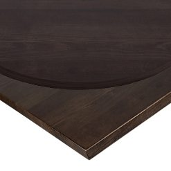 25mm Polished Walnut Solid Ash Table Top