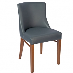 Embrace-Oak-Side-Chair-Upholstered-in-Grey-Faux-Leather-Nobis-Restaurant- Furniture