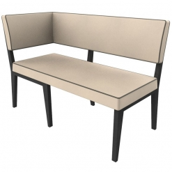 Simplicity Elegant - Right hand Booth corner Seating - 1200mm x 600mm Wide Unit nobis restaraunt furniture