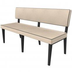 Simplicity Elegant - Straight Booth Seating - 1500mm Wide Unit nobis restaraunt furniture