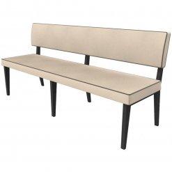 Simplicity Elegant - Straight Booth Seating - 1800mm Wide Unit nobis restaraunt furniture