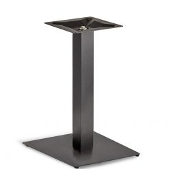 Black-EPC-Mild-Steel-Large-Flat-Square-Base-400mm-Dining-Height-Table-Base-Nobis-Restaurant