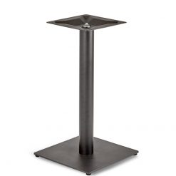 Black-EPC-Mild-Steel-Small-Square-Base-Round-Column-Dining-Height-Table-Base-Nobis-Restaurant-Furniture
