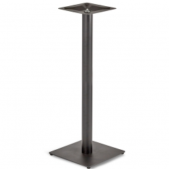 Black-EPC-Mild-Steel-Small-Square-Base-Round-Column-