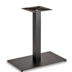 Black-EPC-Mild-Steel-Flat-Rectangular-Single-Pedestal-Dining-Height-Table-Base-Nobis-Restaurant-Furniture