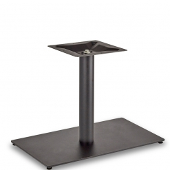 Black-EPC-Mild-Steel-Flat-Rectangular-Single-Pedestal-Round-Column-Lounge-Height-Table-Base-Nobis-Restaurant-Furniture