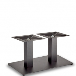 Black-EPC-Mild-Steel-Flat-Rectangular-Twin-Pedestal-Base-Coffee-Height-Table-Base-Nobis-Restaurant-Furniture