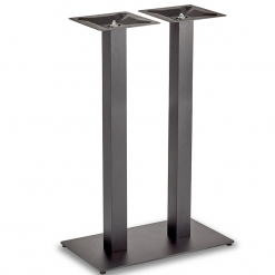 Black-EPC-Mild-Steel-Flat-Rectangular-Twin-Pedestal-Base-Poseur-Height-Table-Base-Nobis-Restaurant-Furniture