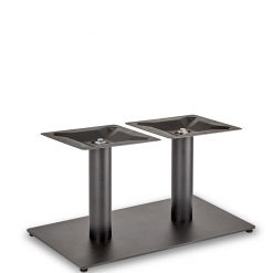 Black-EPC-Mild-Steel-Flat-Rectangular-Twin-Pedestal-Base-Round-Columns-Coffee-Height-Table-Base-Nobis-Restaurant-Furniture