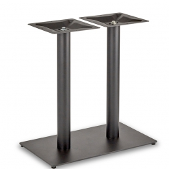 Black-EPC-Mild-Steel-Flat-Rectangular-Twin-Pedestal-Base-Round-Columns-Dining-Height-Table-Base-Nobis-Restaurant-Furniture