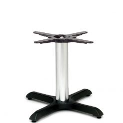 Durham-Black-Chrome-Small-Coffee-Height-Table-Base-Nobis-Restaurant-Furniture