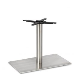 Stainless-Steel-Flat-Rectangular-Single-Pedestal-Round-Column-Lounge-Height-Table-Base-Nobis-Restaurant-Furniture