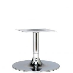 Trumpet-Chrome-Small-Coffee-Height-Table-Base-Nobis-Restaurant-Furniture