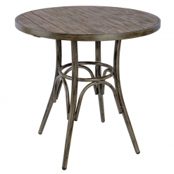 VVictoria Vintage Complete Table 700mm Round Indoor or Outdoor