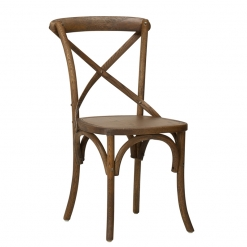 Jewel Oak Side Chair - Walnut Stain veneer seat