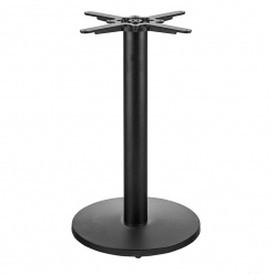 Arepo-round-self-levelling-Cast-iron-table-base-Dining-