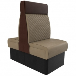 Supreme Quilted High Back - Back to back 600mm FreeStanding Booth Set nobis restaurant furniture
