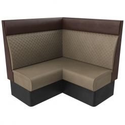 Supreme Quilted Kansas Deluxe High Back Booth Seating Corner seat Nobis Restaurant furniture