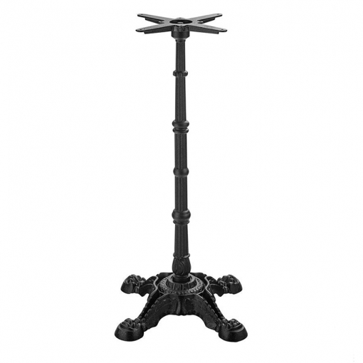 Imperial Self Leveling 4 Leg Cast Iron Table Base - Poseur Height