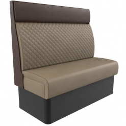 Supreme Quilted Kansas Deluxe High Back Booth Seating 1200mm Nobis Restaurant furniture