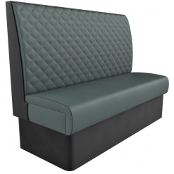 Supreme Quilted Kansas High Back freestanding Booth Seating- wide 1500mm Nobis Restaurant furniture