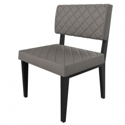 Simplicity Deluxe Quilted - Straight Free Standing Booth Seating - 600mm Wide